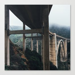 Bixby Bridge, Big Sur, CA Canvas Print