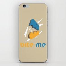 Bite Me iPhone & iPod Skin