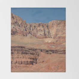 Colorful Mesas 2 - Desert Southwest Throw Blanket