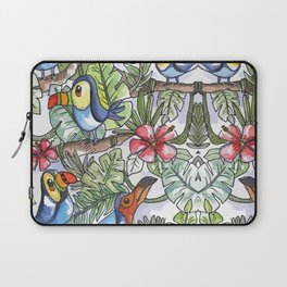 Wild Birds Laptop Sleeve