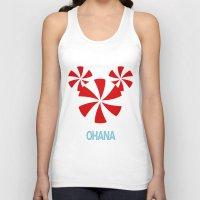 ohana Tank Tops featuring Ohana Mickey by KaylaMessies