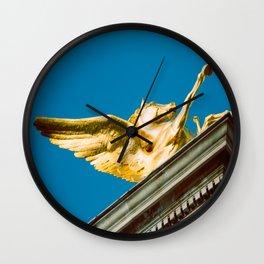 Gold Pegasus Wall Clock