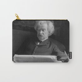 Mark Twain - American Author and Humorist Carry-All Pouch