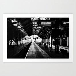 Track 6 Art Print