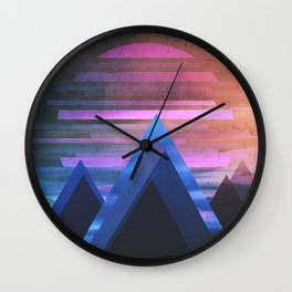 Fractions B08 Wall Clock