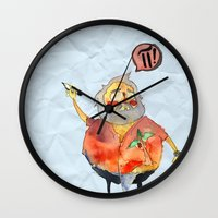 pi Wall Clocks featuring Pi Power! by Jo-L Hate