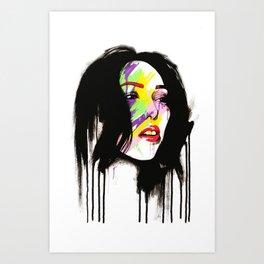 Leia Art Print