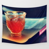 arabic Wall Tapestries featuring Arabic Coffee by Grim99