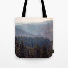 Yosemite Mountains  Tote Bag