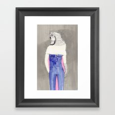 She's a Tiger Framed Art Print