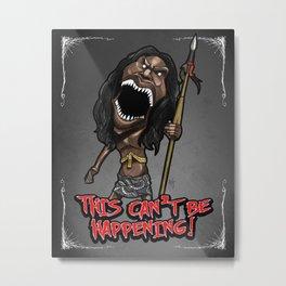 Zuni Fetish Doll Metal Print