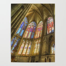 Troyes Cathedral Poster