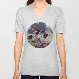 Pincushions at Dusk Unisex V-Neck