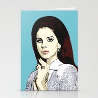 lana Stationery Cards featuring LANA by DVNJCK