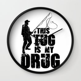 This Tug is My Drug Wall Clock