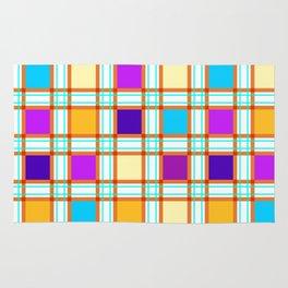 Colorf squares Rug