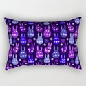 Easter Egg Bunny Pattern - Blue Purple Lilac Ultra Violet by denidesigns