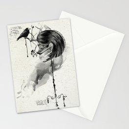 Find me into myself Stationery Cards