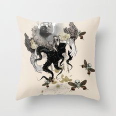 Lust of an Angel Throw Pillow