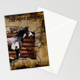 The Pony Express Stationery Cards