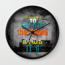 Create the future Wall Clock