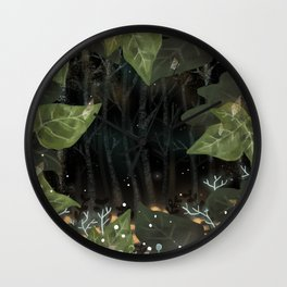 The spirit of nature Wall Clock