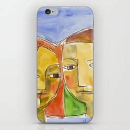 Two Faces iPhone Skin