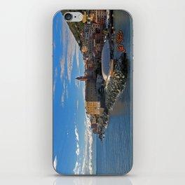 Porto di Nervi iPhone Skin