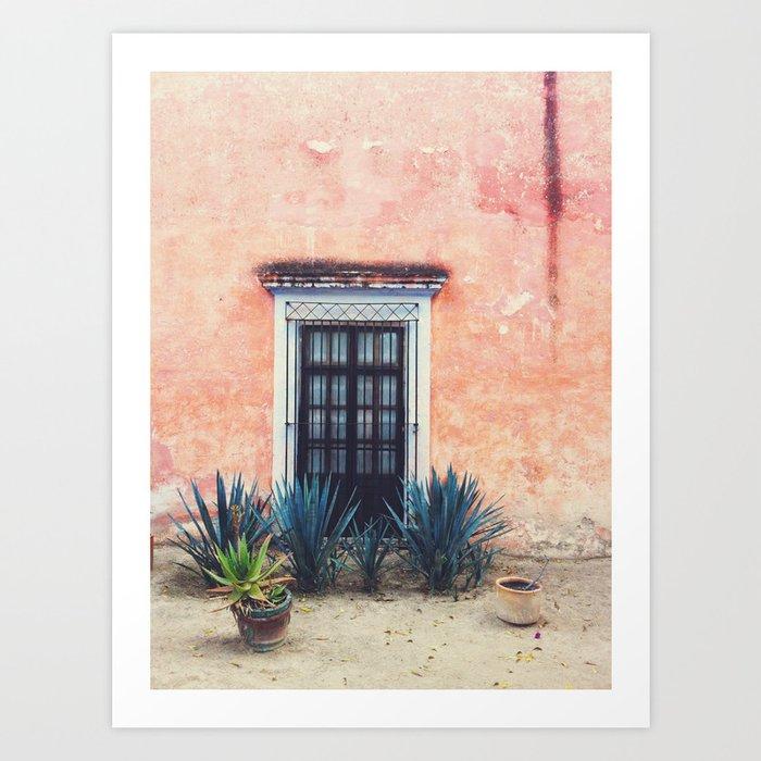 Doorway - San Miguel de Allende, Mexico Kunstdrucke