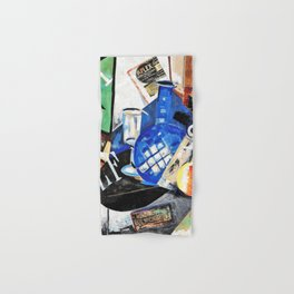 12,000pixel-500dpi - Aleksandra Ekster - Still Life - Digital Remastered Edition Hand & Bath Towel