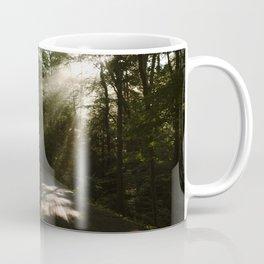 Road Through A Forest Coffee Mug