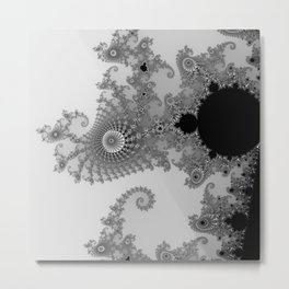 Astract style Metal Print