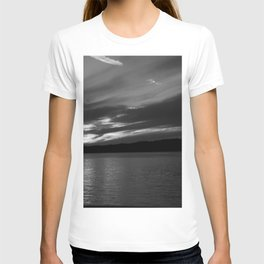 Sunset in Black and White T-shirt