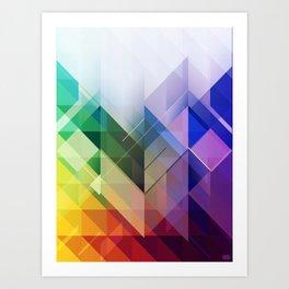 Crystalize Art Print
