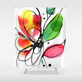 Ecstasy Bloom No.7 by Kathy Morton Stanion Shower Curtain