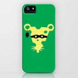 Cheese Burglar iPhone Case