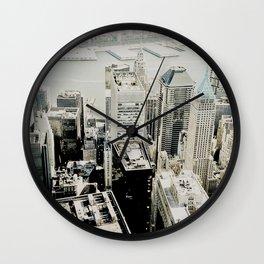 NEW YORK 1 Wall Clock