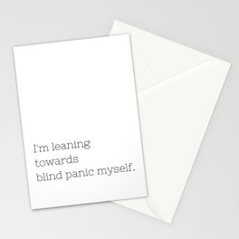Blind Panic - Buffy, the Vampire Slayer - TV Show Collection Stationery Cards
