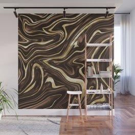 Brown Gold Marble #1 #decor #art #society6 Wall Mural