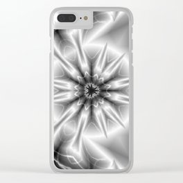 50 Shapes of Gray Clear iPhone Case