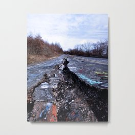 Trial Through Silent Hill Metal Print