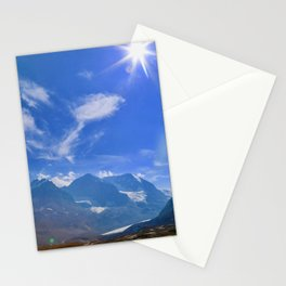 columbia icefield, 2017 Stationery Cards