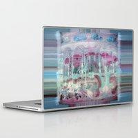 carousel Laptop & iPad Skins featuring Carousel by Heidi Fairwood