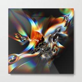 LiquidHF_CC Metal Print