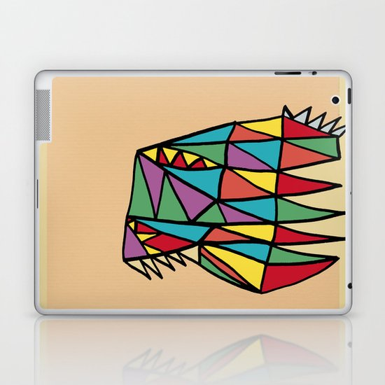 Triheaded Laptop & iPad Skin