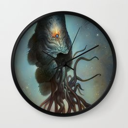 Yawanpok the Void Menace Wall Clock