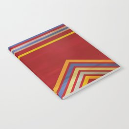 Stripes and Chevrons Ethic Pattern Notebook