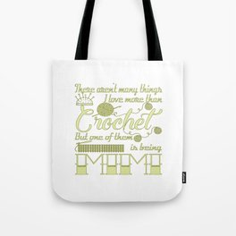 Crochet Mimi Tote Bag