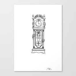 the witching hour. Canvas Print