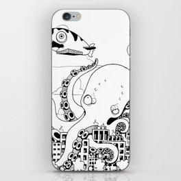 Octopus apocalypse iPhone Skin